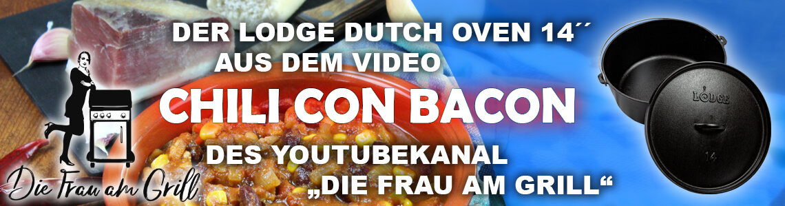 """Gusspfannen Lodge Dutch Oven 14"""""""