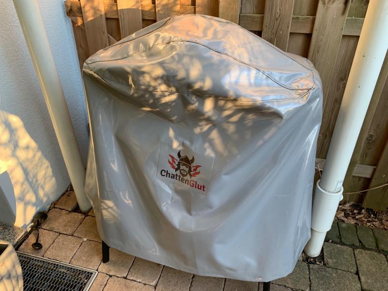 Handgefertigte PVC Abdeckhaube für Weber Grills der Q SERIE - Standgeräte