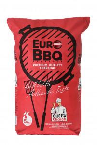 Europalette Marabú Premium Grillholzkohle aus Cuba