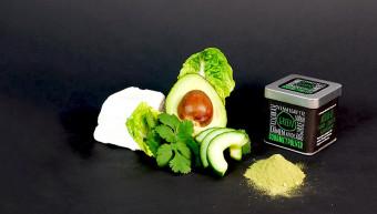Gourmetpulver - Green, 70g Würfeldose