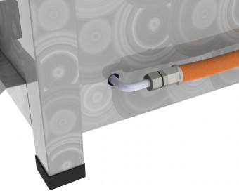 DROSS (KF) Gasbräter 3-flammig