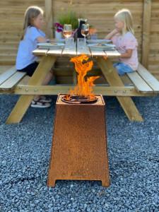 HETA Quad Outdoor Pellet Feuer